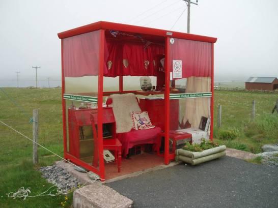 Bobby's Bus Shelter - Unst